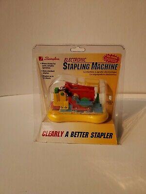 New Swingline Electronic Stapling Machine 21102 Transparent Clear Stapler