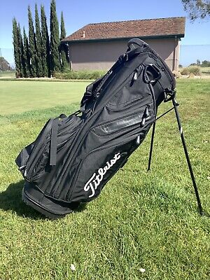 Titleist 14 Way Stand Bag/Cart Hybrid Golf Bag - Used - Black - FREE SHIPPING