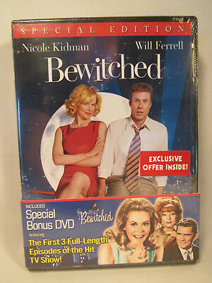 Bewitched   Bewitched Tv Limited Edition Sampler Dvd 2 Disc Set New Sealed