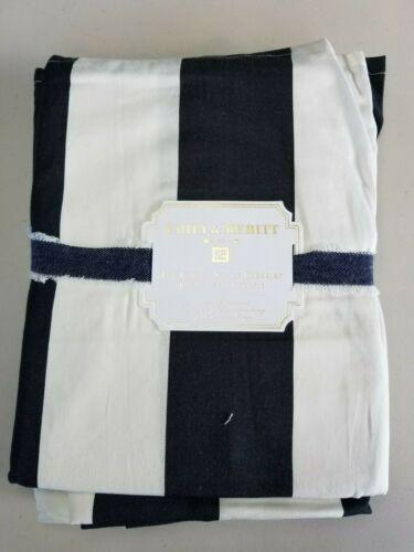 Pottery Barn Teen The Emily & Meritt Circus Stripe Bedskirt Extra Long Twin #408