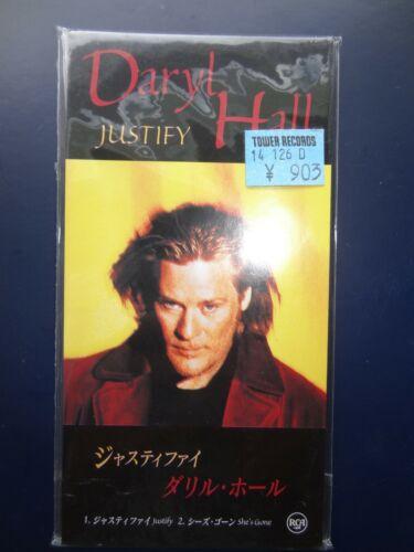 Rare! DARYL HALL (w/o John Oates)- Justify / She