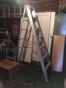 6foot aluminum ladder