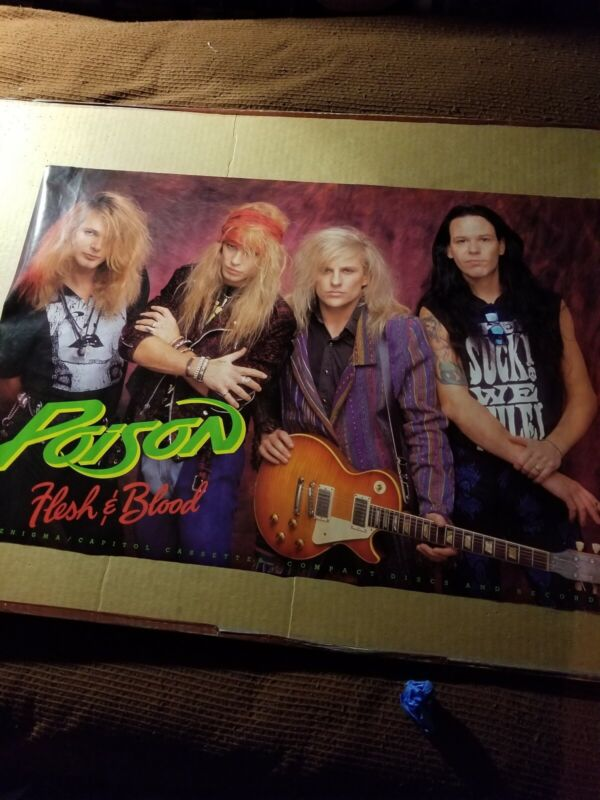 POISON FLESH AND BLOOD PROMO POSTER
