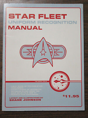 Star Fleet Uniforms (Star Fleet Uniform Recognition Manual by Shane Johnson)