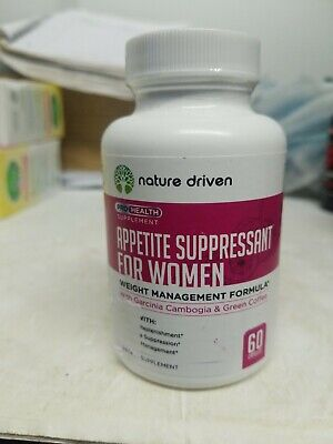 Nature Driven Best Appetite Suppressant for Women  Weight Loss 60 Caps exp