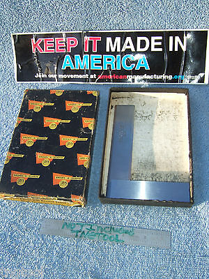 Brownsharpe 542 4-12 Master Square Beveled Edge Toolmaker Machinist Inspect