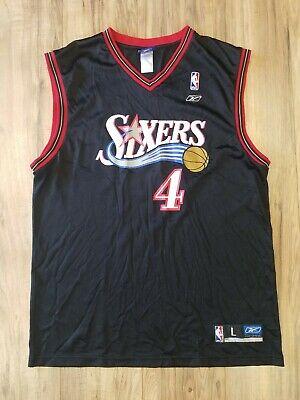 NBA Reebok Philadelphia 76ers Andre Iguodala Jersey Mens Size Large