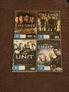 The unit Seasons 1-4 Complete DVD Set