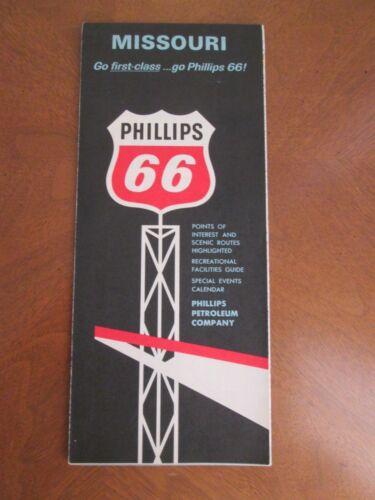 1965  PHILLIPS 66   MISSOURI  MAP