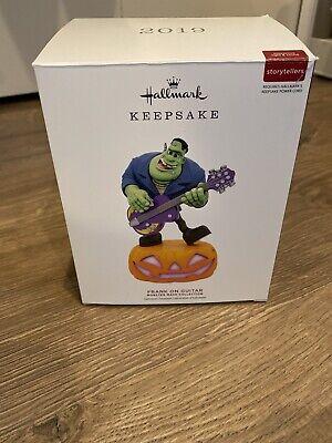2019 Hallmark Frank on Guitar Keepsake Ornament Monster Mash Halloween