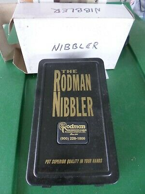 The Rodman Nibbler Sheet Metal Cutter Great Condition In Original Box And Case