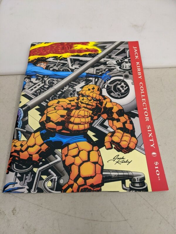 TwoMorrows Jack Kirby Collector Issue 60 Winter 2013 l3720