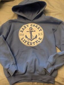 East coast lifestyle sweater- youth med.