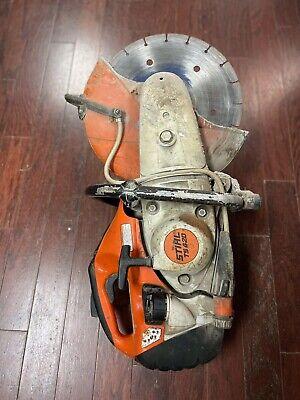 Stihl Ts420 Concrete Cut Off Saw