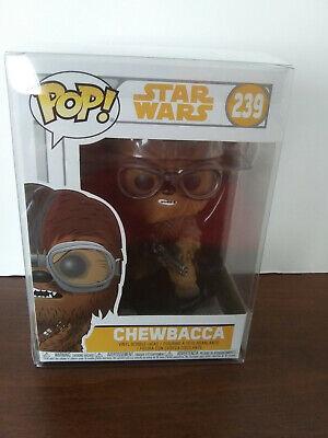 **NEW** Chewbacca Googles w PROTECTOR Star Wars Solo Movie funko pop #239