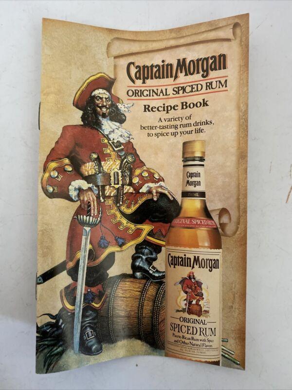 Captain Morgan Spiced Rum recipe Book Vintage - 1991 Old Rare
