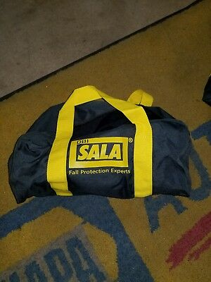 New Dbi Sala Capitol Safety Harness Lanyard Storage Bag 7x7x15 Fall Protection
