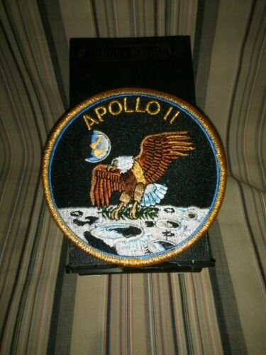 Apollo 11 ORIGINAL Emblem NASA SPACE Mission PATCH Armstrong-Aldrin-Collins.1969