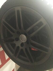 Audi A4 winter tires with rims. 225/45/R17