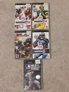 PSP Sports Game Titles!