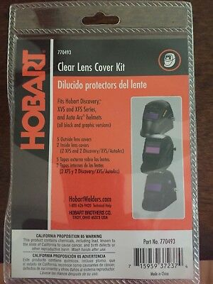 Hobart 770493 Clear Lens Cover Kit For Welding Helmet E1-3