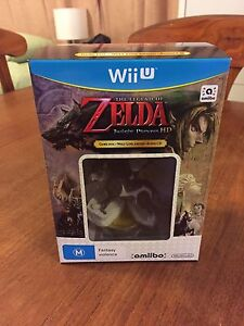 Wii U Twilight Princess Amiibo New Never Used! Beacon Hill Manly Area Preview