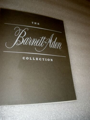 RARE CATALOG THE BARNETT ADEN COLLECTION ANACOSTIA NEIGHBORHOOD MUSEUM