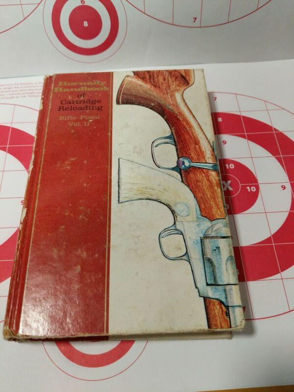 Hornady Handbook of Cartridge Reloading Manual Volume 2, vintage Hornady manual