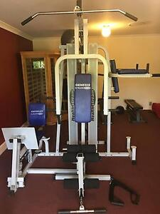 Multi 4 Station Home Gym Healthstream Delux Greenbank Logan Area Preview
