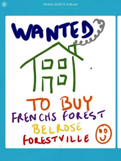 Wanted: Private buyer wants house to buy Frenchs Forest, Forestville, Belrose