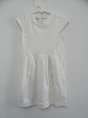 I PINCO PALLINO white short sleeve dress girls sz 6Y