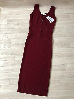 Alexander Mcqueen Dress Body Con Block UK12 Medium Pencil Sheath cocktail NEW