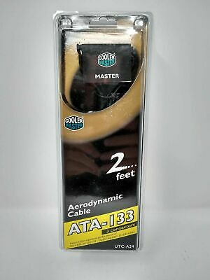 "Used, NEW Cooler Master Aerodynamic Cable ATA-133 24"" UTC-A24 - NIP Free Shipping for sale  Shipping to South Africa"