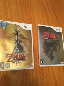 The Legend of Zelda Wii Game Set""