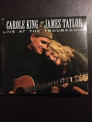 Live at the Troubadour [Digipak] by James Taylor (Vocals)/Carole King (CD, DVD)