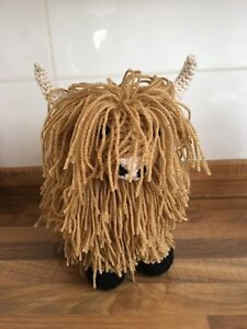Highland Cow amigurumi crochet PDF PATTERN SENT AS EMAIL (please include email )