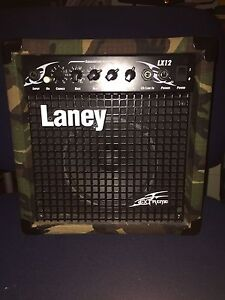 "Laney LX12 limited edition ""camo"" amp"
