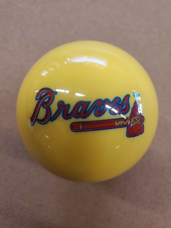 New Atlanta Braves Pool Cue Ball Billiard MLB Eight Ball Nine Ball
