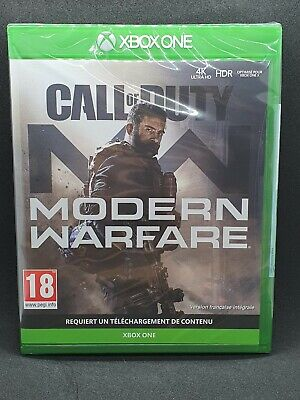Jeu Xbox One Call Of Duty Modern Warfare / Neuf sous blister / version Française