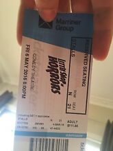 Little Shop of Horrors ticket Hamlyn Heights Geelong City Preview