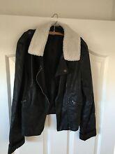 Black leather jacket Ormiston Redland Area Preview
