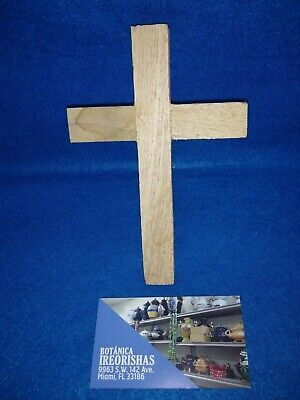 Cruz de Cedro para Bóvedas Against Evil Eye & Coral Para Los Malos Ojos