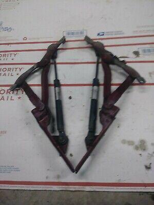 Honda Accord Trunk Strut - 94-95 ACCORD TRUNK HINGE STRUT SHOCK SET PAIR CD5 CD6 BOURDEAUX RED PEARL SHOWA
