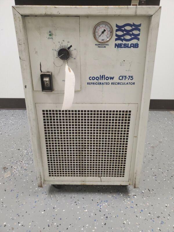 NESLAB CFT-75 COOLFLOW REFRIGERATED RECIRCULATOR