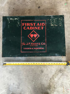 Early 1900s Vintage First Aid Cabinet