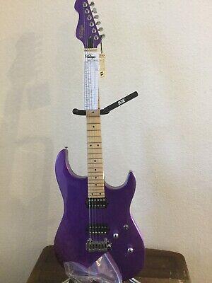 Vintage Electric Guitar 24 Fret! V6M24 PL [PURPLE SATRIANI!]