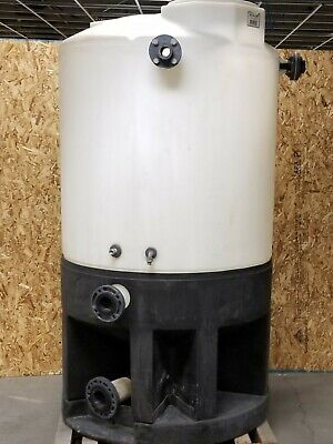 500 Gallon Cone Bottom Tank With Stand Base Kmgm