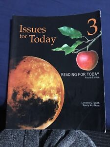 Issues for today/reading for today book