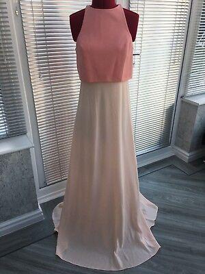 MAXI DRESS Jill Jill Stuart NY USA Size 10 BRIDESMAID BALL PROM EVENING NEW £250