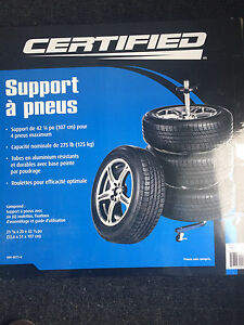2 Certified Tire Stand 275 lb
